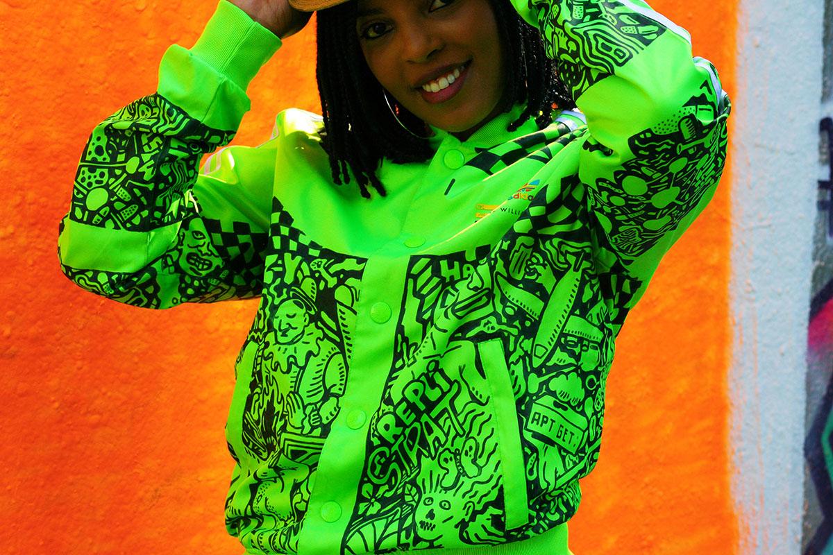 adidas custom jacket by ckeja