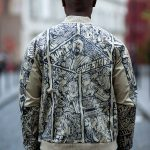 white russian jacket back custom