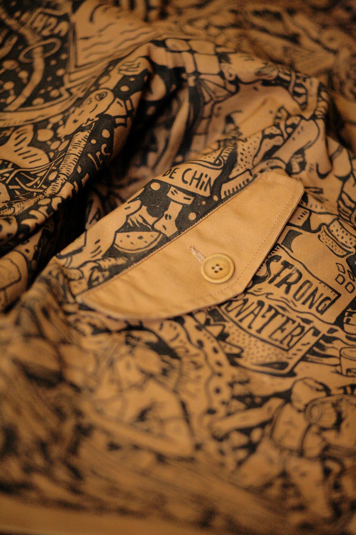 ckeja veste carhartt wip lifestyle detail