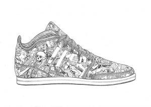illustration adidas